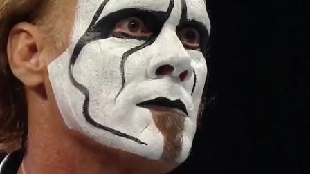 WWE: 白毛台上乱打,连女人也不放过,美女老公