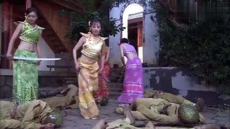 美女给鬼子跳舞被骂,杀的日军片甲不留