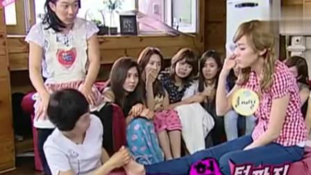 韩国综艺:节目组,请到厉害的脚底按摩师,给美女脚底按摩