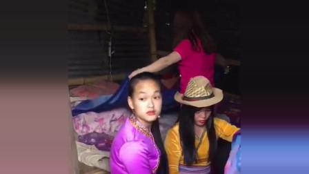 缅甸美女没人要,直接带她回国中,谁知她提出