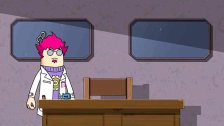 吃鸡搞笑动画:博士一下又研究出了这么多发明