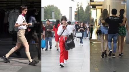 街拍:成都太古里一组街拍小姐姐合集,你喜欢哪个?