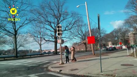 【美国纽约生活】: 最真实美国街拍,社会秩序好不好,你认为呢?