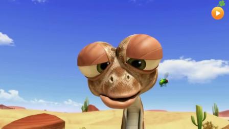 「幽默搞笑」「沙漠里的小伙伴系列」021小蜥蜴