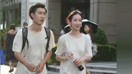 街拍:是时候公布恋情了 看起来特别舒服的情侣