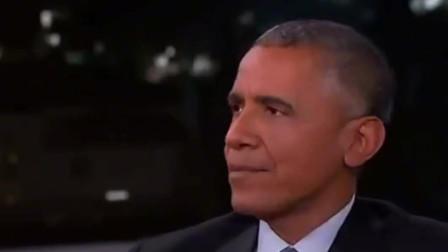 奥巴马离职总统后参加吉米脱口秀,幽默风趣调