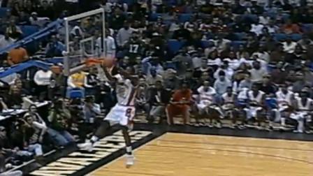 真年轻啊,03年詹姆斯在麦当劳篮球的比赛集锦
