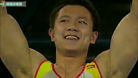 体操王子陈一冰,唯一一个把动作做得如教科书