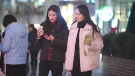 北京街拍:身材好颜值高的女孩,让人一眼就记住了,你喜欢哪一个?