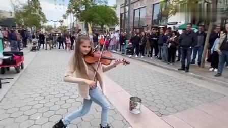 火遍欧美的音乐天才又来了!!小美女一首*eli