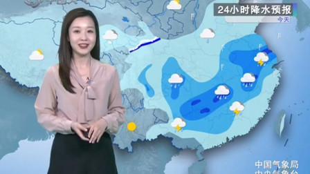 3月26日天气预报 今明两天 南方多地依然有强降雨 并伴有强对流天气 注意防范