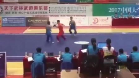 中国大学生武术套路锦标赛惊爆了看完之后是不是还想看