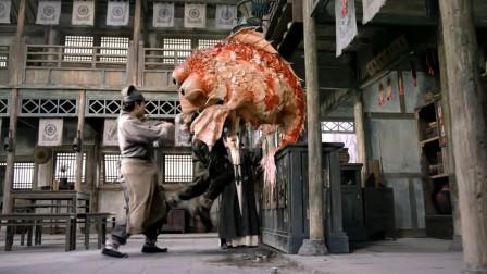吃人的大鱼,变身的美女