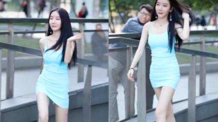 街拍:穿包臀裙的小姐姐,会成为谁的女朋友?