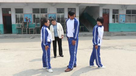 学霸王小九:体育课老师教学生齐步走,一个顺