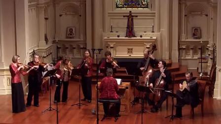美好宁静的巴赫音乐弦乐团演奏《G弦上的咏叹调》