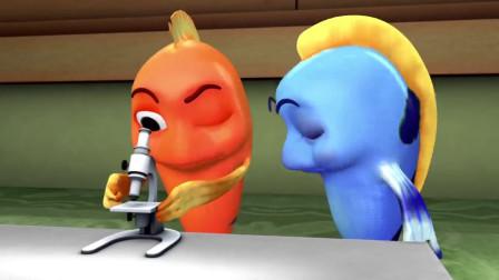 脑洞幽默动画,金鱼给苍蝇洗澡,这强迫症真的
