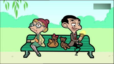 憨豆先生:两只小鸟亲昵,美女也想要这样的感