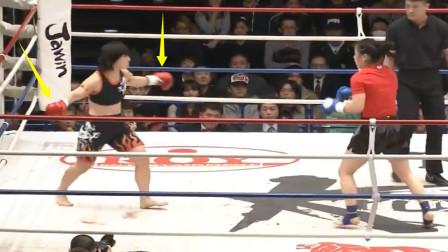 看不起人?日本高手激怒中国张伟丽,结果被一拳打懵打成熊样了