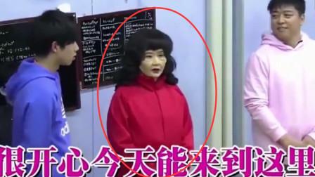 福原爱化妆中国大妈,流利中文骗过所有人,却被小学生吊打翻车!
