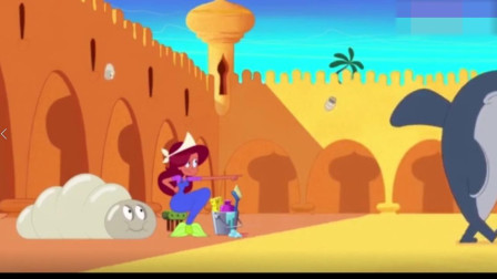 搞笑动画:美人鱼没事养了好多蚕,城堡差点就
