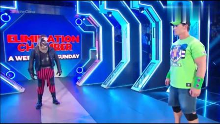 WWE:约翰塞纳惊喜复出却成为了邪神布雷怀特的下一个目标