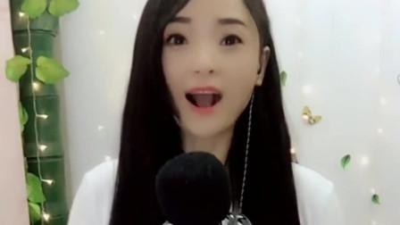 25岁女神动情翻唱《红尘情歌》,好听的歌曲,美