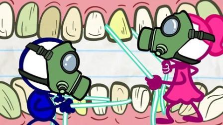 铅笔人搞笑动画:铅笔人的交友秘籍反被嫌弃的小可怜!