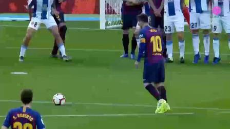2018-2019赛季西甲梅西不可思议足球集锦2