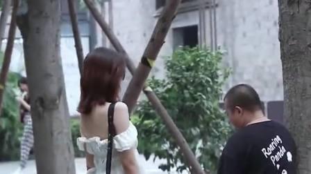 时尚街拍:这是偶遇前男友打招呼的新方式吗,雷到我了!