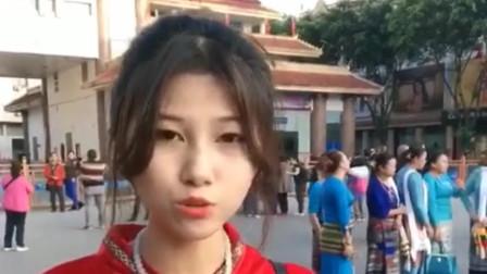 缅甸的美女真的多,随便在大街上买个东西,都