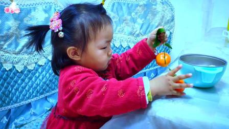 创意音乐视频《嘴巴嘟嘟》一岁半的宝贝自己吃