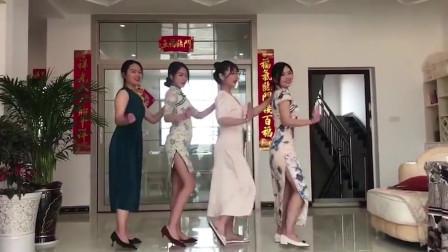 美女们集合跳舞,你觉得谁更漂亮?