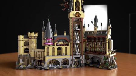 创意幽默动画,积木拼装成城堡,原来可以这么