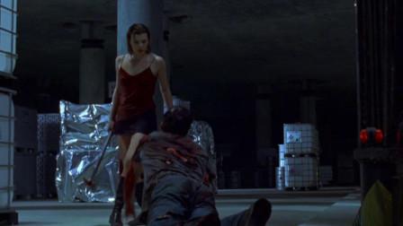 美女见男友变丧尸向自己爬来,毫不犹豫手起刀
