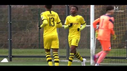 即将征战德甲,多特蒙德15岁神童穆科科集锦,U19联赛20轮轰34球