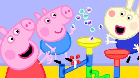 大家一起来玩吹泡泡啦 小猪佩奇游戏