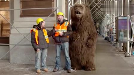 """恶搞:假扮成狗熊出现在纽约街头,这""""狗熊"""""""
