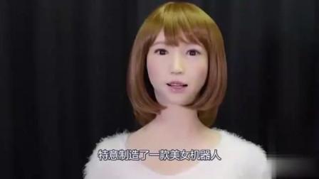 日本仿真美女机器人