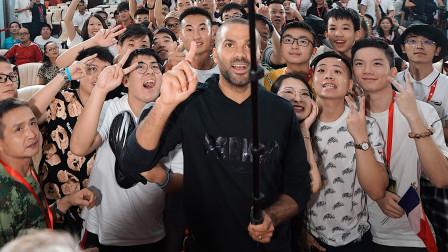 NBA 法国跑车 托尼 帕克 2019年中国行  广东站集锦