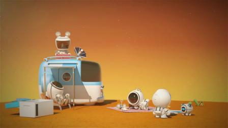 脑洞幽默动画,户外郊游惨遭外星人驱赶,不料