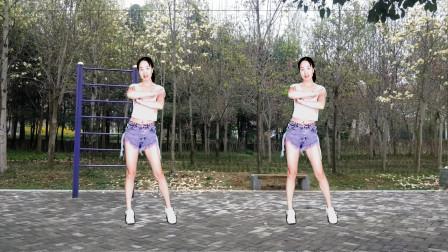 网红32步摆跨舞【都说二爷美DJ】歌词幽默搞笑,