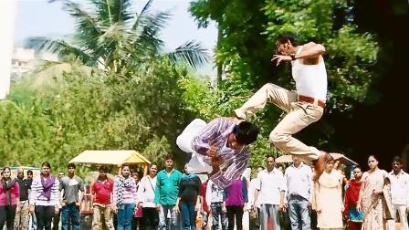 印度电影 阿贾耶国语版《雄狮》 开挂动作没得说