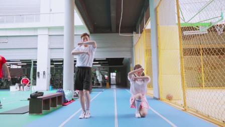 元气少女和活力男孩的阳光舞蹈!
