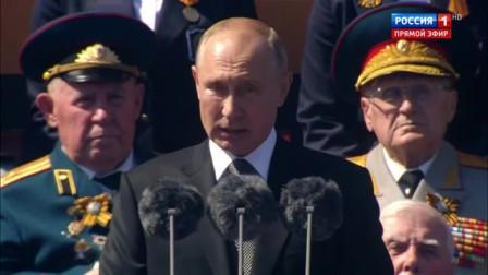 俄罗斯2020年6月24日红场阅兵式