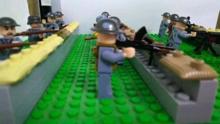 乐高演绎抗日战争常德会战 定格动画