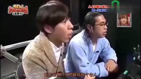 日本综艺节目 少女为了赢游戏 脱衣服给自己打气