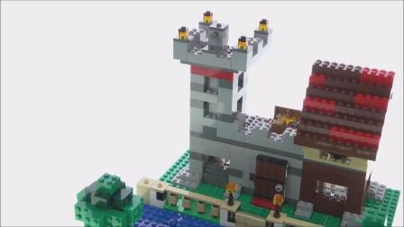 拼装乐高我的世界21161 建造箱子3.0套装