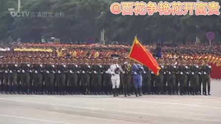 为庆祝《中国共产党》建党100周年献礼片 《红太阳歌曲联唱》配上国庆50 60 70周年大阅兵徒步方队 不一样的视听效果更加震撼