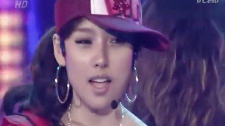 李孝利-Hey girl(现场